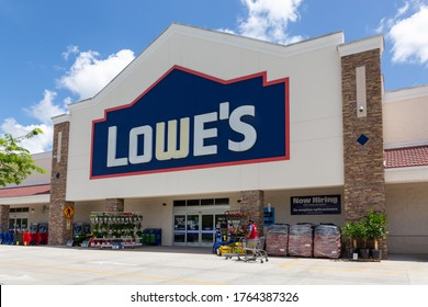 Davie, Florida, USA - June 26, 2020: Lowe's storefront. Companies that are hiring during COVID-19 The COVID-19 pandemic has hit workers in the U.S. hard.