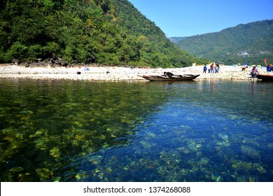 Dawki Lake in North East India