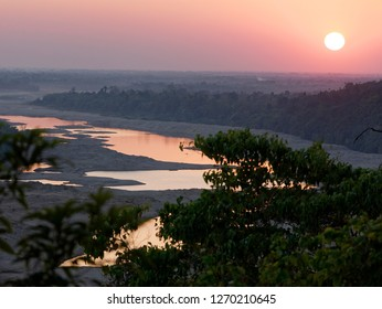 Dawki river in Dawki ,India Bangladesh Border, Meghalaya, India