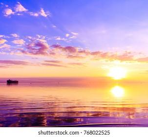 Dawn Atmosphere Paradise
