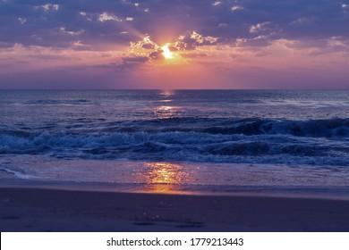 Dawn at the beach in Corolla, North Carolina