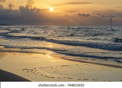 dawn at Bibione beach