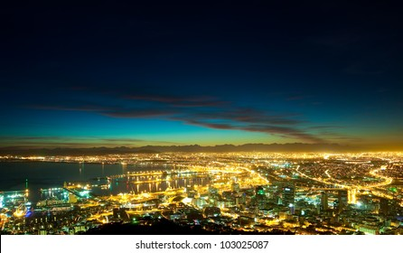 Dawn in the City (South Africa, Cape Town)