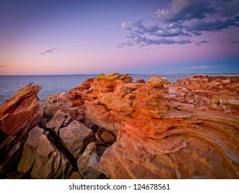 Dawn, Gantheaume Point