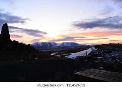 Dawn in Iceland