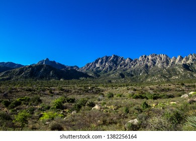 Dawn light at Organ Mountains-Desert Peaks National Monument in New Mexico