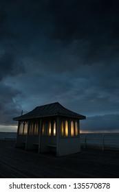 Dawn on Cromer Pier