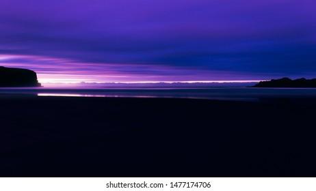 Dawn on Smails Beach 12 August