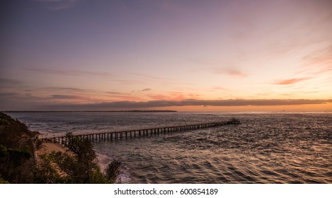 Dawn at Point Lonsdale jetty