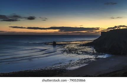 Dawn, Saltwick Bay, Whitby Yorkshire UK