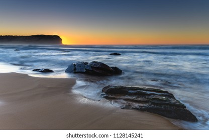 Dawn Seascape - Capturing the sunrise from MacMasters Beach on the Central Coast, NSW, Australia.