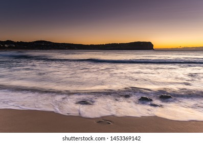Dawn Seascape - MacMasters Beach on the Central Coast, NSW, Australia.