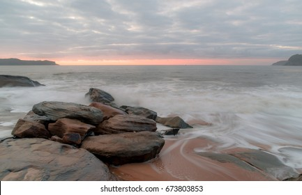 Dawn Seascape - Taken at Pearl Beach, Central Coast, NSW, Australia.
