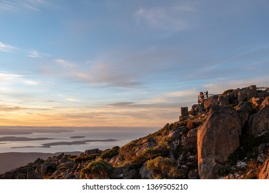 Dawn view from Mount Wellington