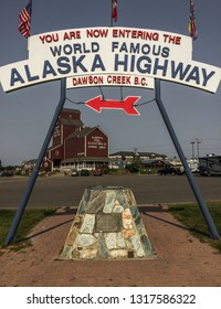 Dawson Creek, Yukon, 20-08-2018, Alaska Highway