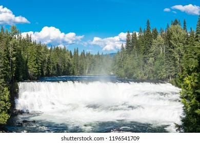 Dawson Falls at Wells Gray Provincial Park near Clearwater, British Columbia, Canada