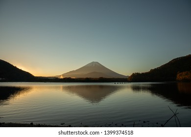 The day begins with Mt. Fuji.