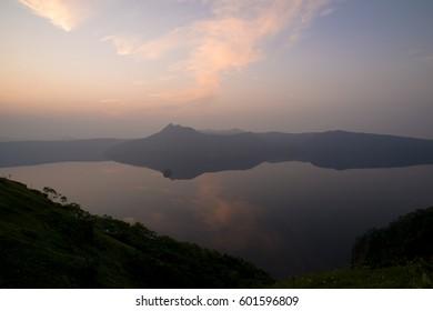 Day break of Mashu lake