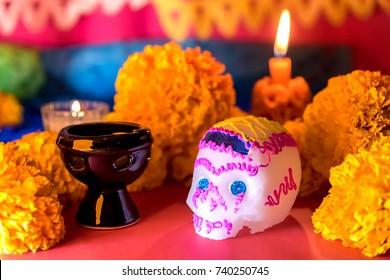 Day of the dead celebration - Ofrenda dia de muertos