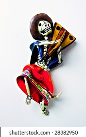 Day of the Dead Mexican Dancer Doll