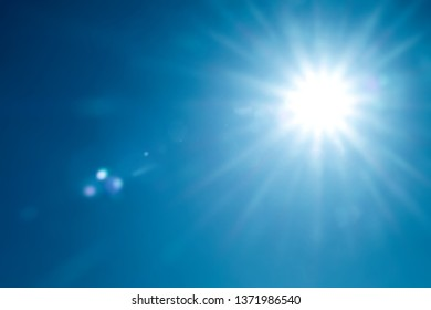 day sky with bright sunshine