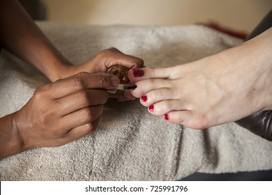 Day Spa foot pedicure and nails