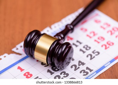 Day of stashny court. Date of court hearing. Calendar day trial. Сourt hearing. Judge's verdict. Symbol law.