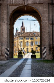 day street  in Parma, Italy, Bologna aria