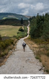 """A day in summer on the oldest Camino de Santiago in Spain, the """"Camino Primitivo"""", leading from Oviedo to Santiago de Compostela (also called """"Jakobsweg"""" or """"Camino Santiago"""")"""