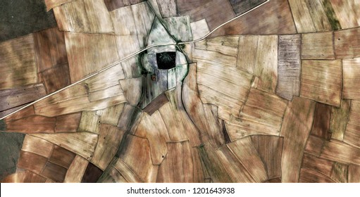 the day watchman, tribute to Pollock, abstract photography of the deserts of Africa from the air, aerial view, abstract expressionism, contemporary photographic art, abstract naturalism,