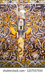 Dayak Motif and Pattern