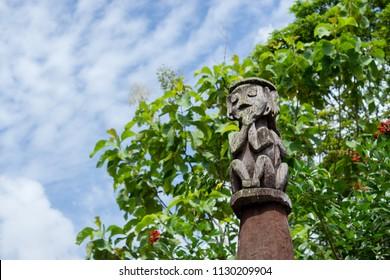 A Dayak Totem
