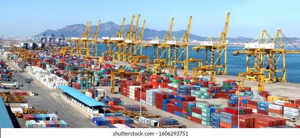 Dayaowan container terminal of Dalian Port Group