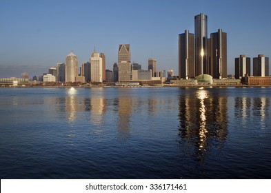 Daybreak on Detroit, November 2015