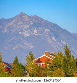 Daybreak UT home with mountain and sky background