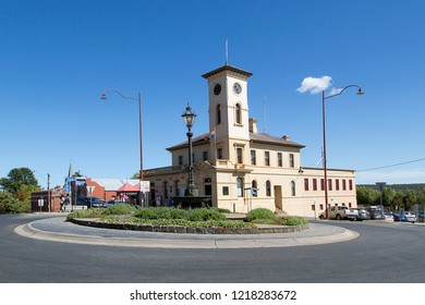 Daylesford, Australia: March 23, 2018: Post Office Building in Daylesford - a small town to the north-west of Melbourne. It is a popular tourist attraction with quaint buildings and gift shops.