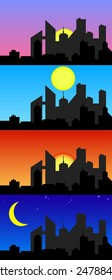 Daytime city