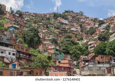 Daytime landscape of a Caracas neighborhood