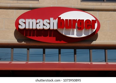 Dayton - Circa April 2018: Smashburger Fast Casual Restaurant Location. Smashburger is part of Jollibee Foods I