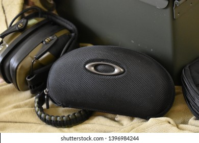 Dayton, OH- May 13, 2019 Military Issue Tactical Oakley Glasses Hard Case