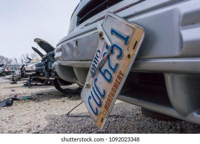 Junk Yards In Dayton Ohio >> Dayton Ohio Usa May 18 2018 Stock Photo Edit Now