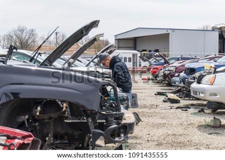 Dayton Ohio USA April 29 2018 Stock Photo (Edit Now) 1091435555