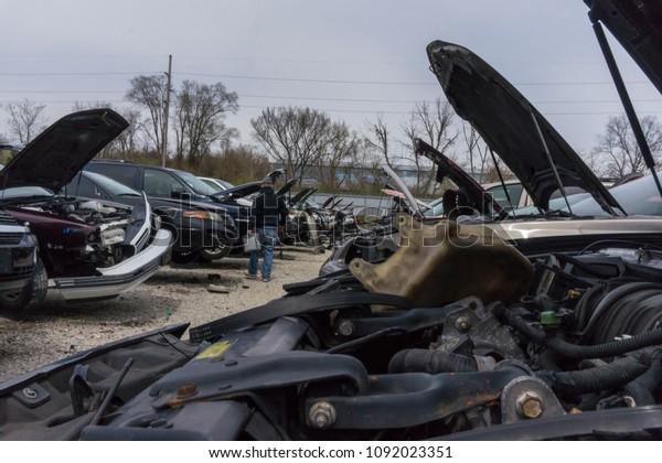 Junk Yards In Dayton Ohio >> Dayton Ohio Usa April 29 2018 Stock Photo Edit Now 1092023351