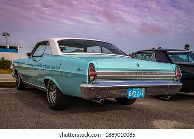 Daytona Beach, FL - November 29, 2020: 1967 Mercury Comet Caliente at a local car show.