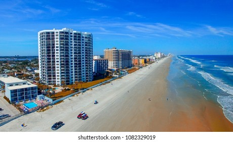 Daytona Beach, Florida. Beautiful aerial view.