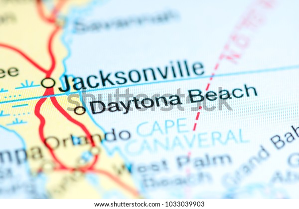 Daytona Beach Florida Usa On Map Stock Photo (Edit Now ... on vero florida map, tampa florida map, fort walton florida map, sarasota florida map, fort lauderdale florida map, orlando florida map, clearwater florida map, ocala florida map, st. augustine map, jacksonville florida map, largo florida map, holly hill florida map, lakeland florida map, lake mary florida map, amelia island florida map, pensacola florida map, panama beach florida map, miami florida map, boca raton florida map, marco island florida map,