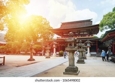 Dazaifu Temple, Fukuoka Temple,tenmangu