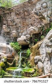 Dazu Rock Carvings, Chongqing, China