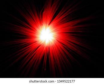 dazzling light show