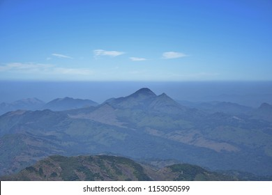 """""""Dazzling view from the top of Agasthyamala Peak - The second highest peak in Kerala"""""""